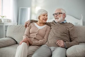 a couple enjoys Independent Senior Living homes in md